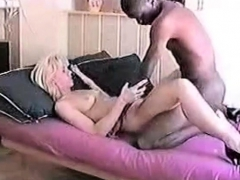 Blonde Wife Gets A Mouthful