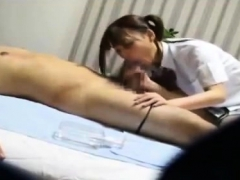 Massage From Asian Babe Includes Blowjob For Her Client