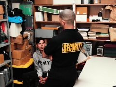 Youngperps - Latin Guy Used By Security Guard