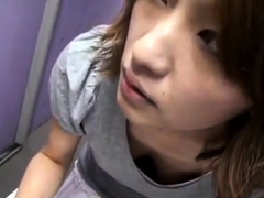 Another Downblouse Vid Of A Super Hot Asian Babe