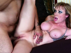 Tattooed Blonde Knows How To Suck Dick