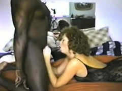 british wife in body stockings enjoys 9 inch black penis
