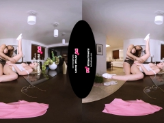 Tsvirtuallovers - Shemale Fucks Her Maid Virtual Reality