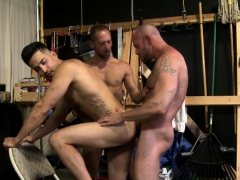 Hot Gay Hunk Jerking Off