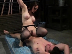 Two College Cuties Ass-fucked In Threesome