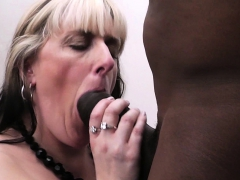 BBW takes huge cheating black rod from behind