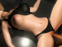 3d Busty Girl Fucked From Both Ends!