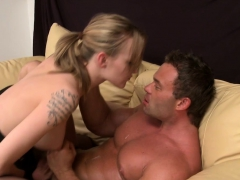 busty-femdom-pegging-slaves-ass-after-tugging