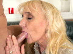 jizzy mouthed gilf blows granny sex movies