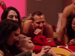 Red Room Gets Some Steamy Action From Horny Swingers Party