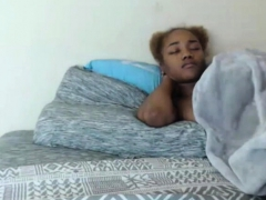 Ebony Black Teen Blowjob And Facial