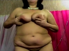 Fat Mature Bbw On Cam With Dildo In Ass