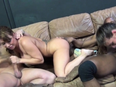 Hard dicks disappear in lovely babes
