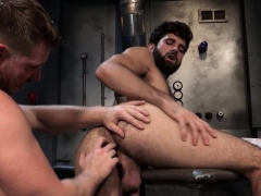 Hairy Stud Eating Ass