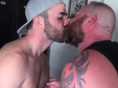bearded-bear-pounding-tight-butthole