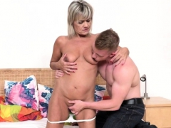 Horny Housewife Cherry Doing Her Toyboy