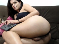 Slim Tgirl Tempting Solo