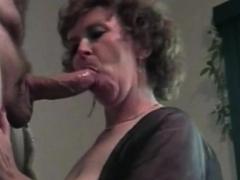 Amateur Couger Wife Blowjob