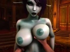 soria elf animation