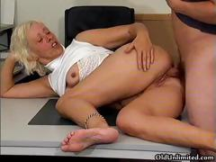 Horny Grandma Gets Her Wet Pussy Fucked Part6