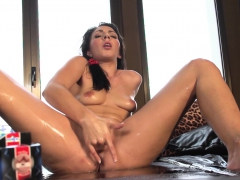 Brunette Couch Gsopt Squirt