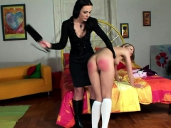 Naughty Babe Gets Her Ass Spanked
