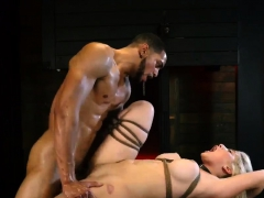 Guy Dominated Dildo And Close Up Rough Fuck Big-breasted