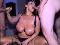 backdoor dp gangbang party with sexy susi