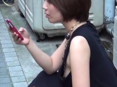Asian cuties nipples seen