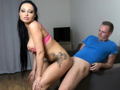 german massive tits latina babe gets rough anal and jizz in mouth سكس محارم HD