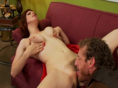 redhead-milf-fucked-on-her-couch
