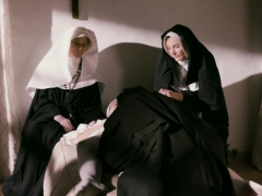 Lesbian Nun Gets Fingered