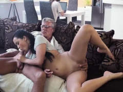 Old Man Young Rough Gangbang And Blowjob In Our Tent What