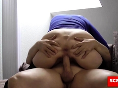sexy milf gets another creampie