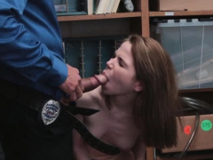 Teen Cooperates With Perverted Officer!