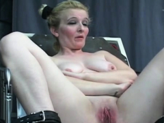 Dude Plays Harsh On Babe's Pussy In Bizarre Slavery