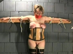 Enslaved Pretty Babe Wobblers Torture