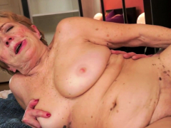 Chubby Euro Granny Pounded In Various Poses
