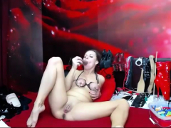 Sexy Brunette Milf In A Solo Act In Hd