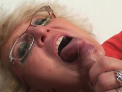 she finds old mother gets doggy-fucked by her boyfriend