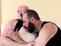 Hairy chub doggystyled unsaddled by hunk