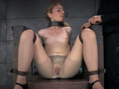 chained up submissive humiliated and punished