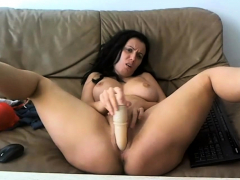 sexy, sexy milf teasing on webcam