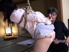 woman asian bdsm and muffin torture of japanese tige