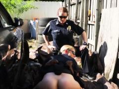 milf cops take advantage of monster black penis