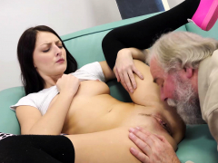 Old Goes Young – Talented cutie rides old dick in cowgirl