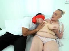 busty granny loves penis