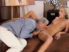 Old4k. Shanie Ryan Finally Tries Dick Of Her Geography...