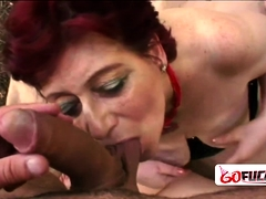 Horny Granny Tamara Moans Loud As She Gets Her Cunt Squashed | Porn Bios