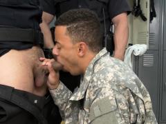 Bogus Soldier Is Coerced By Gay Cops
